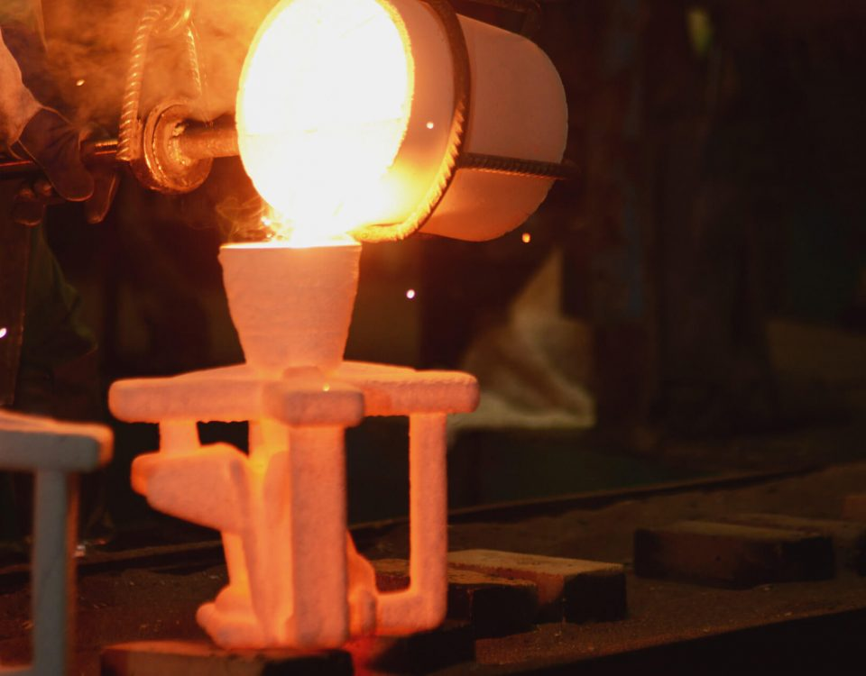 Investment casting foundry